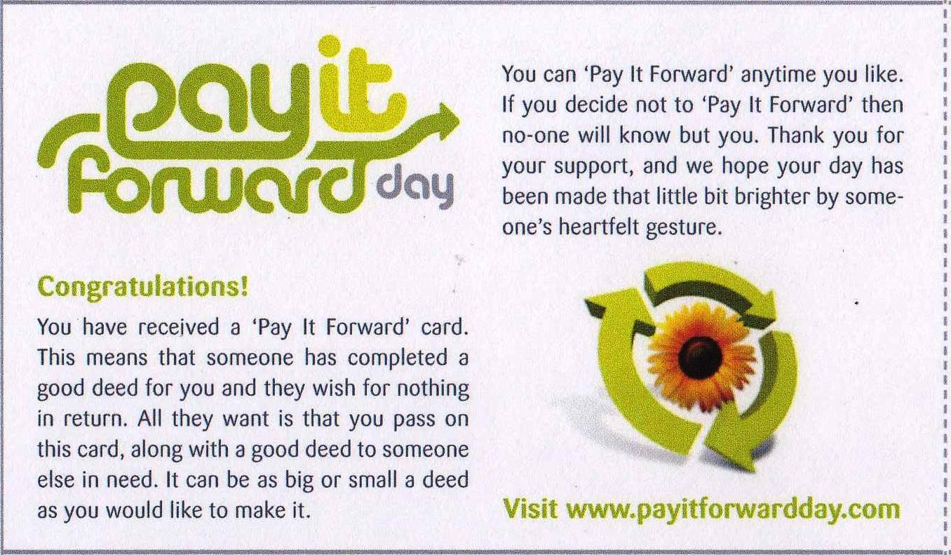 pledge card designs